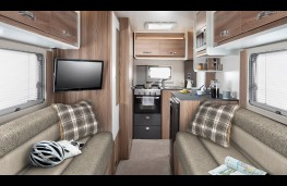 Swift Fiat Ducato motorhome, interior, living space